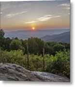 Shenandoah Valley Sunset  Metal Print
