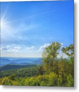 Shenandoah's The Point Overlook Metal Print