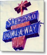 Shenango Bowl-a-way Metal Print