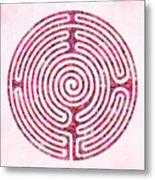 Shepherd's Race - Rose Metal Print