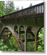 Shepperds Dell Bridge Metal Print