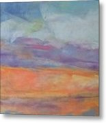 Sherbert Sands Metal Print by Lisa Dionne