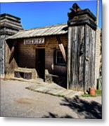 Sheriff Office - Old Tucson Metal Print