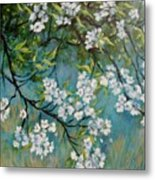 Sherry Flowers 2 Metal Print