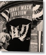 Shibe Park - Connie Mack Stadium Metal Print by Bill Cannon