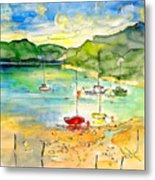 Shieldaig In Scotland 03 Metal Print