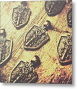 Shields Of Knighthood Metal Print