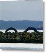Shilshole Sea Serpent Metal Print