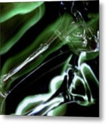 Shimmer Metal Print by Barbara  White