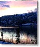 Shimmering Waters Metal Print