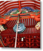 Shinto Shrine Metal Print