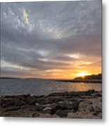 Ship Harbor Metal Print