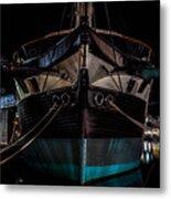 Ship Of Yesteryear Metal Print