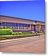 Shirk Products Factory Metal Print