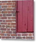 Shirley Mansion Outbuilding Wall Metal Print