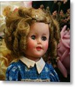 Shirley Temple Doll Metal Print