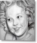 Shirley Temple Metal Print
