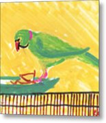 Shirley's Bird Metal Print