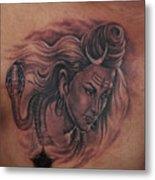Shiva Mahadev Metal Print