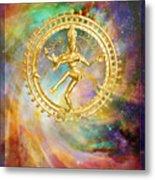 Shiva Nataraja - The Lord Of The Dance Metal Print