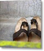 Shoe Metal Print