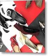 Shoe Fetishism 2 Metal Print