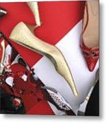 Shoe Fetishism 5 Metal Print
