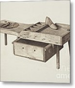 Shoemaker's Bench Metal Print