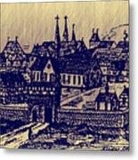 Shoenou Monastary Germany Metal Print