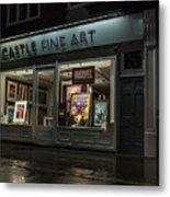 Shop Window In Covent Garden Metal Print