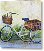 Shopping Day In Lucca Italy Metal Print
