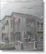 Shopping Mall Laguna Hills Metal Print