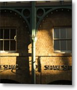 Shops At Covent Garden Metal Print