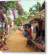 Shops In Madagascar Metal Print