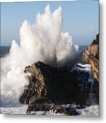 Shore Acres Waves 1 Metal Print
