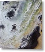 Shore Action 2 Metal Print