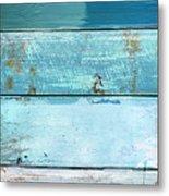 Shore And Moonrise Metal Print