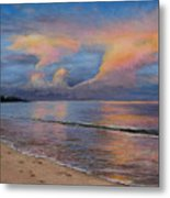 Shore Of Solitude Metal Print