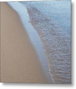 Shoreline Meditation Metal Print