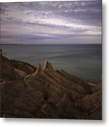 Shoreline Sentries Metal Print