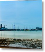 Shoreline View Metal Print