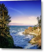 Shores Acres Cove Metal Print