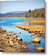 Shores Of The Allain Metal Print