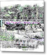 Shorey Park Bridge II Metal Print