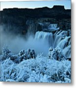 Shoshone Falls Panorama Metal Print