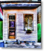 Shotgun House Number 3 Metal Print