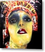 Show Girl Milly Metal Print