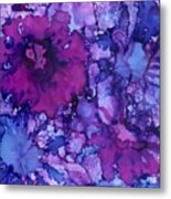 Showing Off Metal Print by Christine Crawford