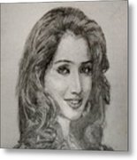 Shreya Ghoshal Metal Print