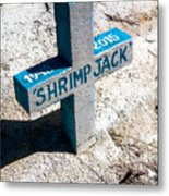 Shrimp Jack Metal Print